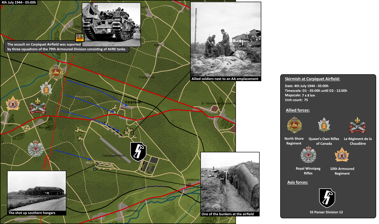 Carpiquet Airfield map.png