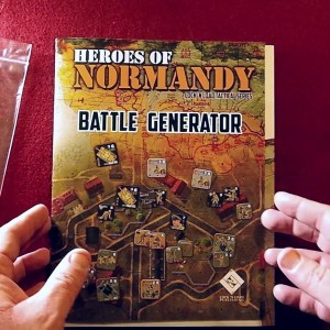 Heroes of Normandy Battle Generator - Unboxing by Ones Upon a Game - YouTube