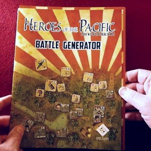 Heroes of the Pacific Battle Generator - Unboxing by Ones Upon a Game - YouTube