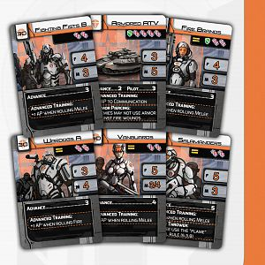 Space Infantry Resurgence Features Cards 1