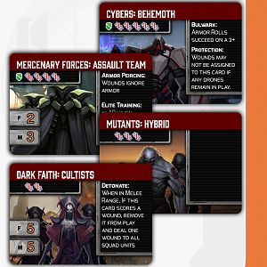 Space Infantry Resurgence Features Cards 2