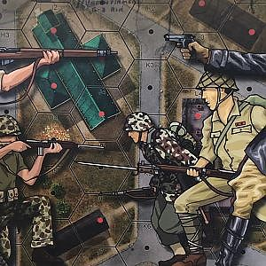 Unboxing: Heroes of the Pacific from Lock 'n' Load Publishing - The Players' Aid - YouTube