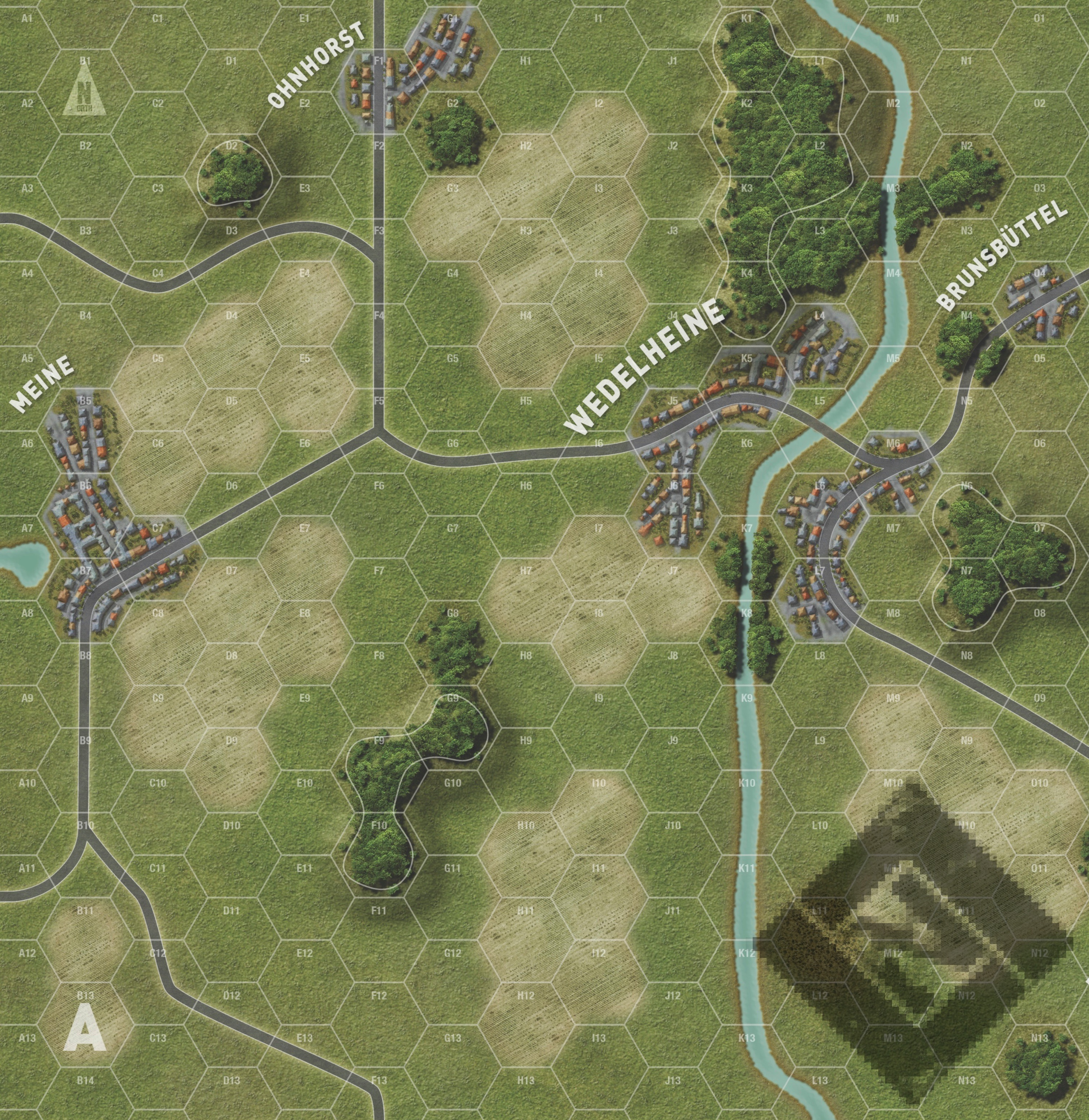 World At War - The Untold Stories New Map A Sample1 | Lock \'n Load ...